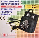 Stabilizovaný sieťový zdroj RC 300