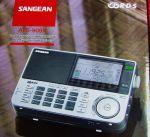 Sangean ATS 909 X- ČIERNY